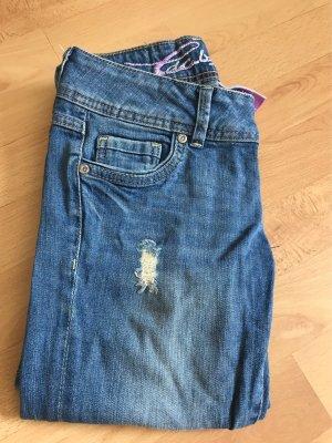 Leichte destroyed Jeans Esprit skinny