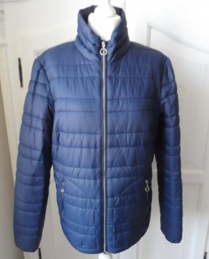 edc by Esprit Quilted Jacket dark blue mixture fibre