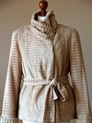 Leichte elegante Jacke von Beroni für Frühling, beige, S
