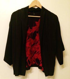 Leichte elegante Weste / Blazer / Jacke - Kimono Style