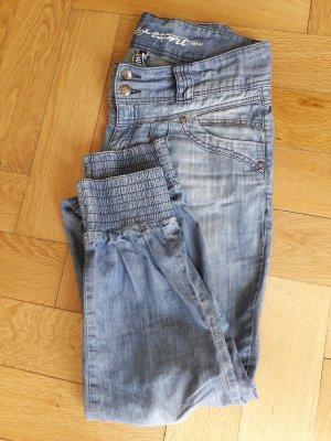 leichte ESPRIT Jeans mit gerafftem Beinabschluß, Gr.29/32
