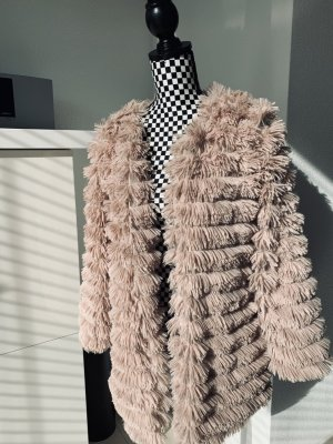 SassyClassy Fake Fur Coat multicolored