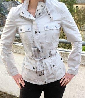 Zara Coupe-vent argenté-gris