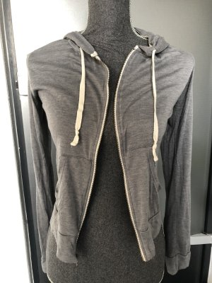 Hollister Veste à capuche gris-gris clair