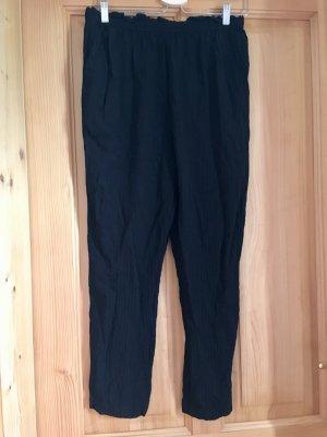 Oysho Linen Pants black