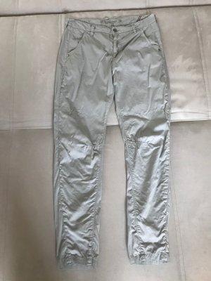 Leichte Hose für den Urlaub, Knie Abnäher etc., Chino Vintage