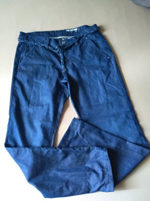 edc by Esprit Chinos dark blue mixture fibre