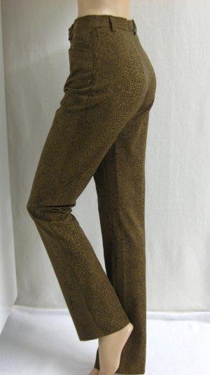 leichte Hose, stretch, Schlangenprint