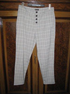 Zara Trafaluc Pantalón de cintura alta multicolor