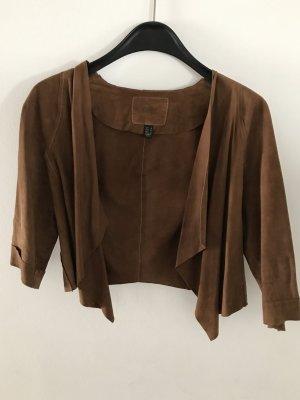 Leichte Jacke aus Leder Lederjacke