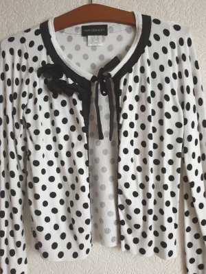 Amy Vermont Blouse Jacket white-black