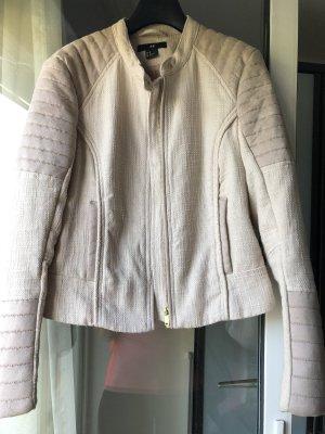 H&M Giacca mezza stagione beige chiaro-crema