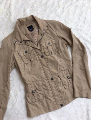 Leichte Jacke Blazer Übergangsjacke ESPRIT beige braun