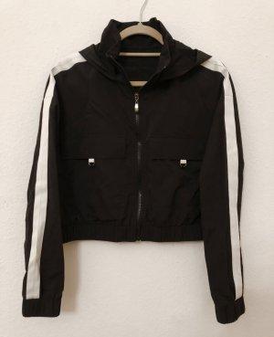 Leichte Jacke cropped schwarz