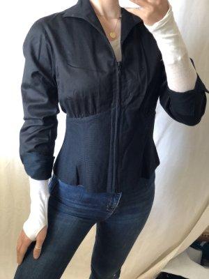 Anne Fontaine Veste chemisier noir