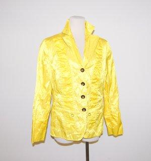 Steilmann Veste d'extérieur jaune primevère fibre synthétique