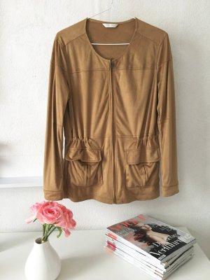 Leichte Jacke in beige von Promod Größe 38
