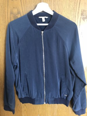 Tom Tailor Denim Blouson aviateur bleu