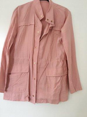 Leichte Jacke in lachsfarben von Zara