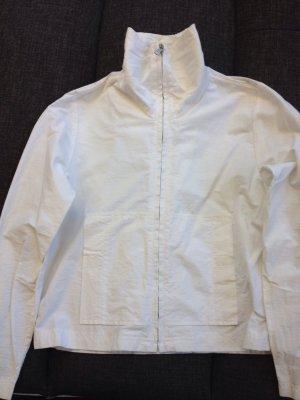 -Leichte Jacke in Weiß