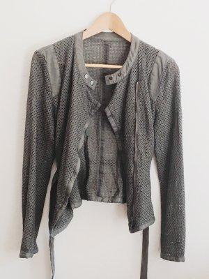 Marc Cain Blouse Jacket slate-gray