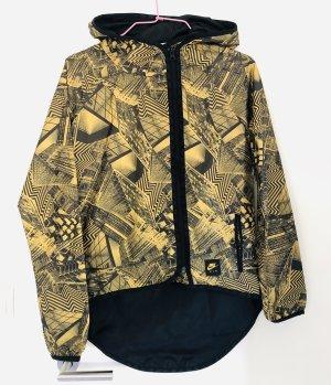 Leichte Jacke, Nike, Größe XS/34, schwarz/gelb