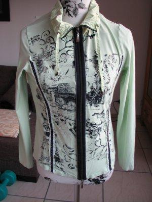 Biba Blouse Jacket meadow green-dark blue