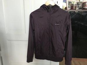 Leichte jacke von carhartt lila größe xs 34 mit kapuze w'squall jacket