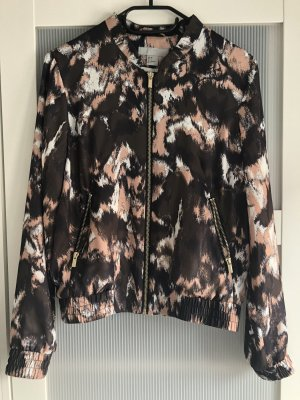 H&M Veste chemisier or rose-noir