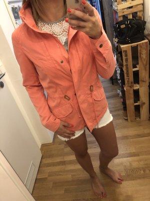 Leichte Jacke von only in coral Pink