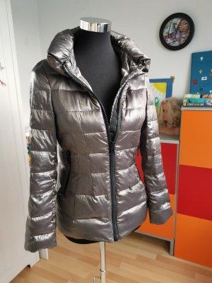 Zara Outdoor Jacket silver-colored-grey