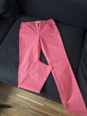 Brax Slim jeans framboosrood Katoen
