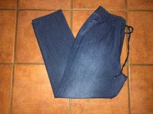 Jeans boyfriend bleuet-bleu acier