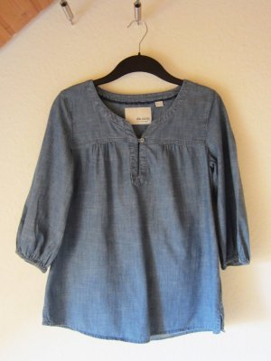 Leichte Jeans-Tunika mit schönem Ausschnitt