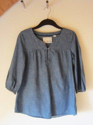 Leichte Jeans-Tunika mit schönem Ausschnitt - Größe 36