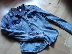 leichte Jeansjacke tailliert