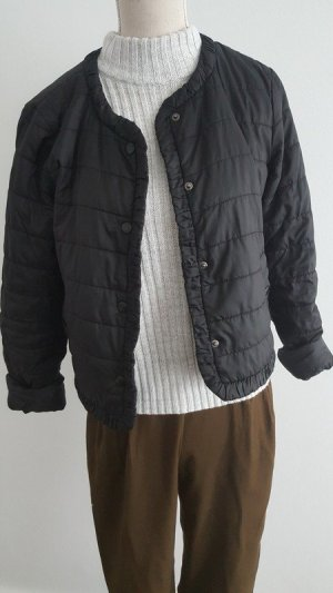 Mango Casual Sportswear Donsjack zwart