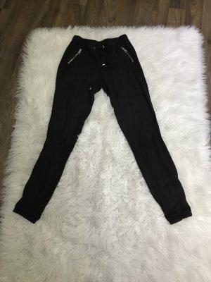H&M Pantalón elástico negro