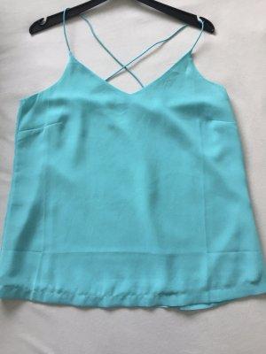 Vero Moda Camisola azul claro-turquesa