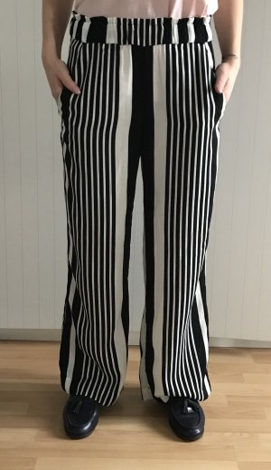 H&M Marlene Trousers black-white