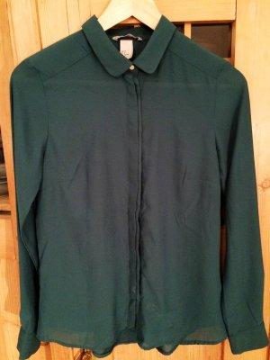 Leichte moosgrüner Bluse/Hemd