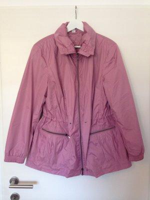 leichte Regenjacke in rosa/flieder