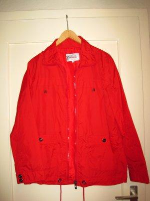 Leichte Regenjacke in Rot