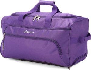 Bolso de viaje lila Poliéster