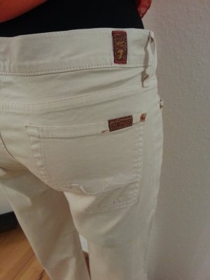 7 For All Mankind Trousers sand brown