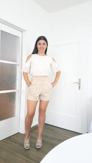 Leichte Sommer Bluse in weiß Gr 38