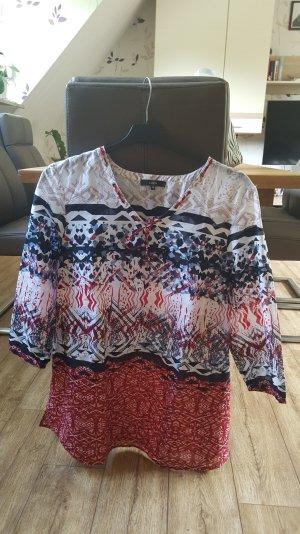 Leichte Sommer/Tunika-Bluse bunt Größe 46 von Bonita
