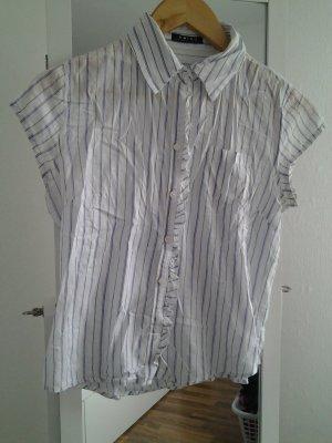 Amisu Colletto camicia bianco-blu
