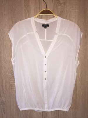 Ann Christine Sleeveless Blouse white