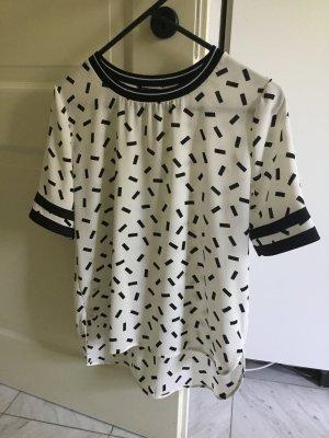 Leichte Sommerbluse im T-Shirt Look Größe 40